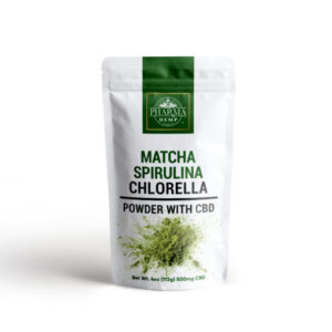 CBD Green Juice Mix with Matcha, Spirulina and Chlorella