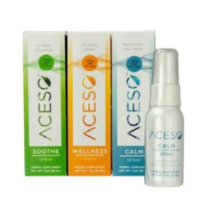 Aceso CBD Spray - Calm, Soothe & Wellness