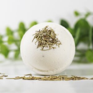 CBD Bath Bomb Relief – Peppermint & Eucalyptus 100mg