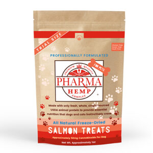CBD Oil Freeze-Dried Salmon Pet Treats