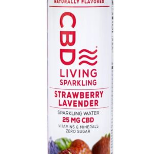 CBD Living Sparkling Water - 25mg